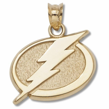 Tampa Bay Lightning 10K Gold Pendant