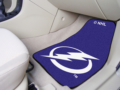 Tampa Bay Lightning 2 Piece Car Mats