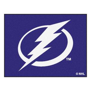 Tampa Bay Lightning 34 x 45 Rug
