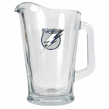 Tampa Bay Lightning 60 oz Glass Pitcher