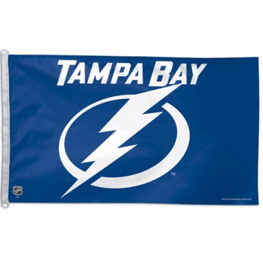 Tampa Bay Lightning Big 3x5 Flag