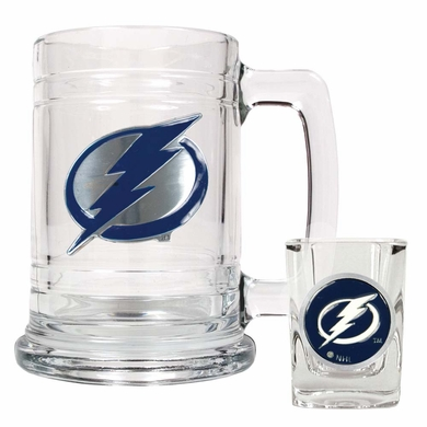 Tampa Bay Lightning Boilermaker Set