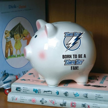 Tampa Bay Lightning (Born to Be) Piggy Bank