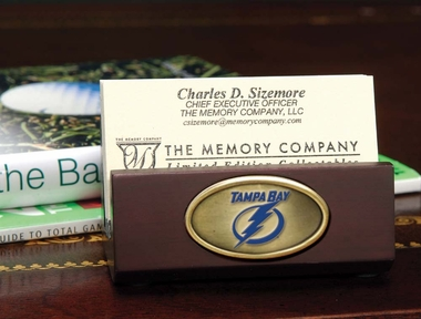 Tampa Bay Lightning Business Card Holder