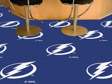 Tampa Bay Lightning Carpet Tiles