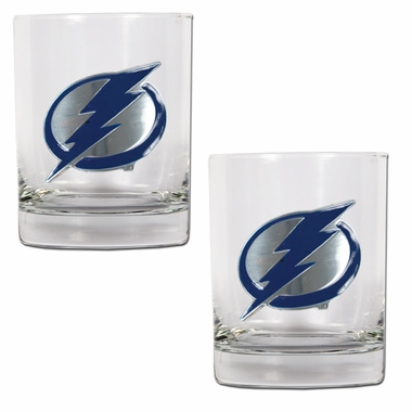 Tampa Bay Lightning Double Rocks Set