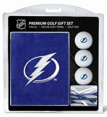 Tampa Bay Lightning Embroidered Towel Gift Set