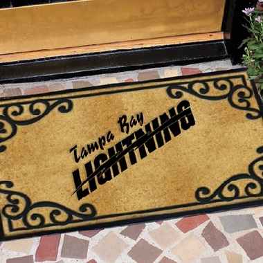 Tampa Bay Lightning Exterior Door Mat