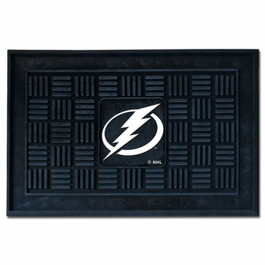 Tampa Bay Lightning Heavy Duty Vinyl Doormat