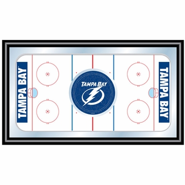 Tampa Bay Lightning Hockey Bar Mirror
