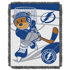 Tampa Bay Lightning Jacquard BABY Throw Blanket