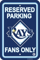 Tampa Bay Lightning Plastic Parking Sign (P)
