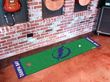 Tampa Bay Lightning Putting Green Mat