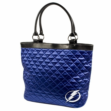 Tampa Bay Lightning Quilted Tote