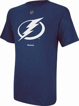 Tampa Bay Lightning Reebok Primary Logo T-Shirt - Blue