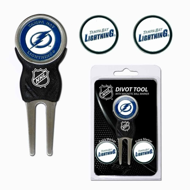 Tampa Bay Lightning Repair Tool and Ball Marker Gift Set