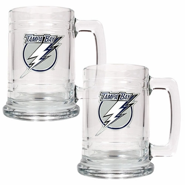 Tampa Bay Lightning Set of 2 15 oz. Tankards