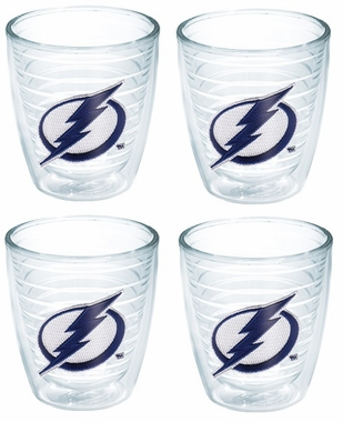 Tampa Bay Lightning Set of FOUR 12 oz. Tervis Tumblers