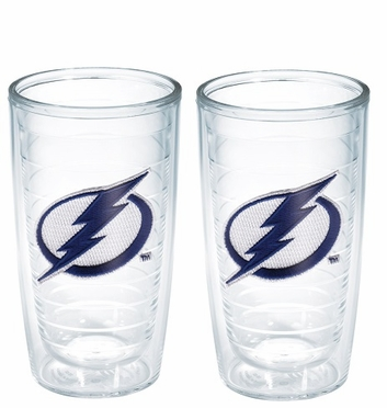 Tampa Bay Lightning Set of TWO 16 oz. Tervis Tumblers