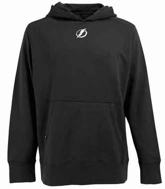 Tampa Bay Lightning Mens Signature Hooded Sweatshirt (Team Color: Black)