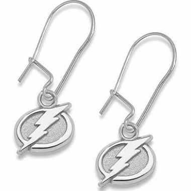 Tampa Bay Lightning Sterling Silver Post or Dangle Earrings