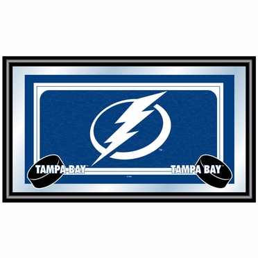 Tampa Bay Lightning Team Logo Bar Mirror