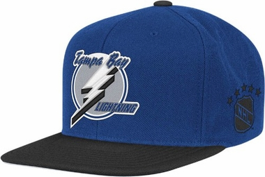 Tampa Bay Lightning Throwback Snapback Hat