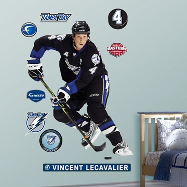 Tampa Bay Lightning Vincent LeCavalier Fathead Wall Graphic