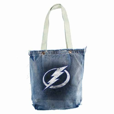 Tampa Bay Lightning Vintage Shopper (Denim)