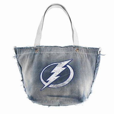 Tampa Bay Lightning Vintage Tote (Denim)
