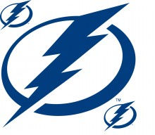 Tampa Bay Lightning Wallmarx Large Wall Decal