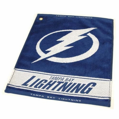 Tampa Bay Lightning Woven Golf Towel