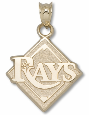 Tampa Bay Rays 10K Gold Pendant