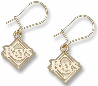 Tampa Bay Rays 10K Gold Post or Dangle Earrings