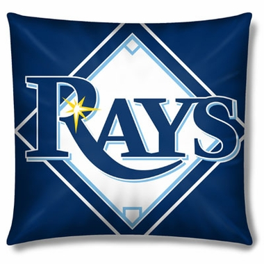 Tampa Bay Rays 15 Inch Applique Pillow