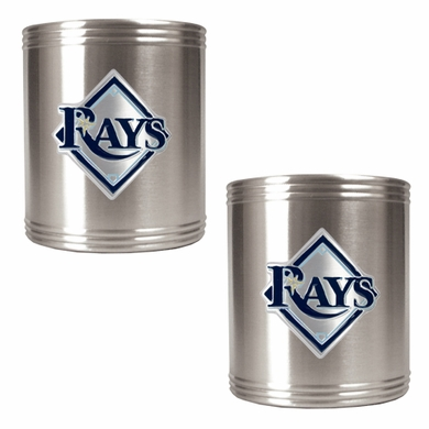 Tampa Bay Rays 2 Can Holder Set