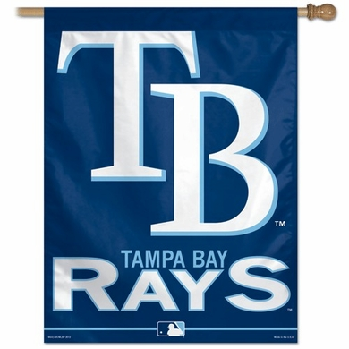 """Tampa Bay Rays 27"""" x 37"""" Banner"""