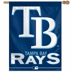 "Tampa Bay Rays 27"" x 37"" Banner"