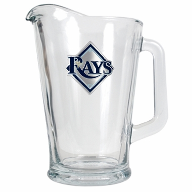 Tampa Bay Rays 60 oz Glass Pitcher