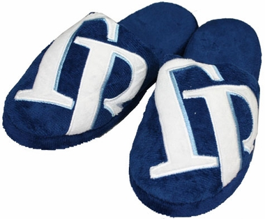 Tampa Bay Rays Big Logo Hard Sole Slippers