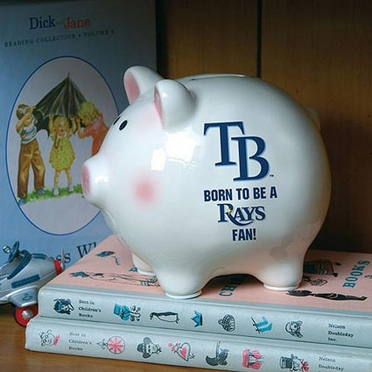 Tampa Bay Rays (Born to Be) Piggy Bank