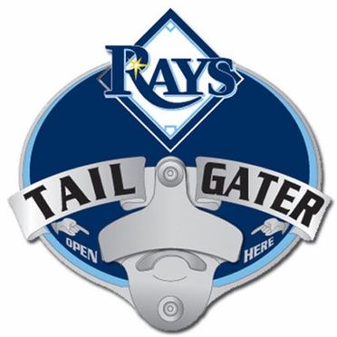 Tampa Bay Rays Bottle Opener Hitch Cover
