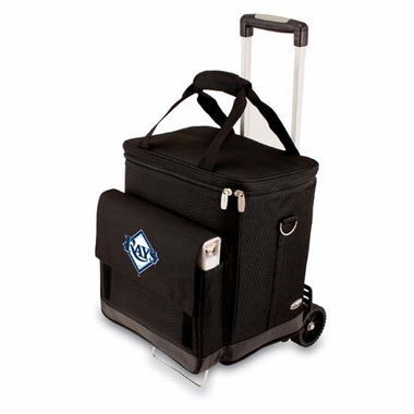 Tampa Bay Rays Cellar w/ Trolley (Black)