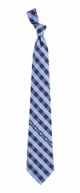 Tampa Bay Rays Check Poly Necktie