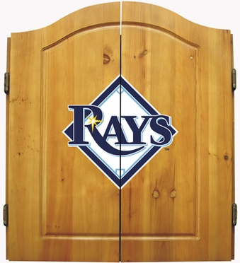 Tampa Bay Rays Complete Dart Cabinet