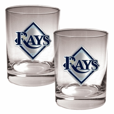 Tampa Bay Rays Double Rocks Set