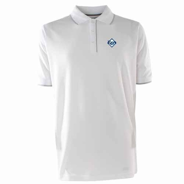 Tampa Bay Rays Mens Elite Polo Shirt (Color: White)