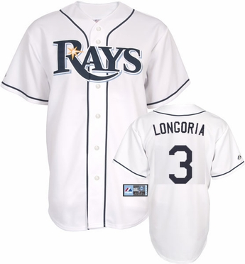 Tampa Bay Rays Evan Longoria Replica Player Jersey