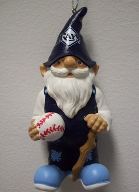 Tampa Bay Rays Gnome Christmas Ornament
