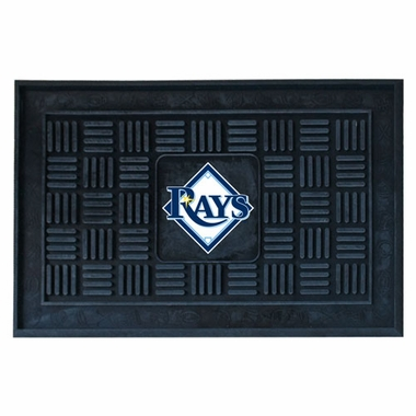 Tampa Bay Rays Heavy Duty Vinyl Doormat